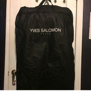 Yves Salomon Jackets & Coats - Yves Salomon Fur Bomber
